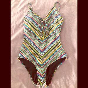 Lucky Brand Arabian Nights one piece swimsuit
